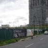 フィリピンのコンドミニアムの建設現場