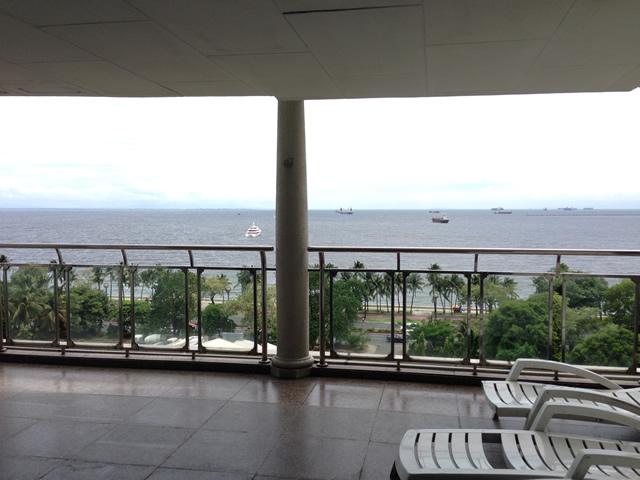 フィリピンのマニラ湾