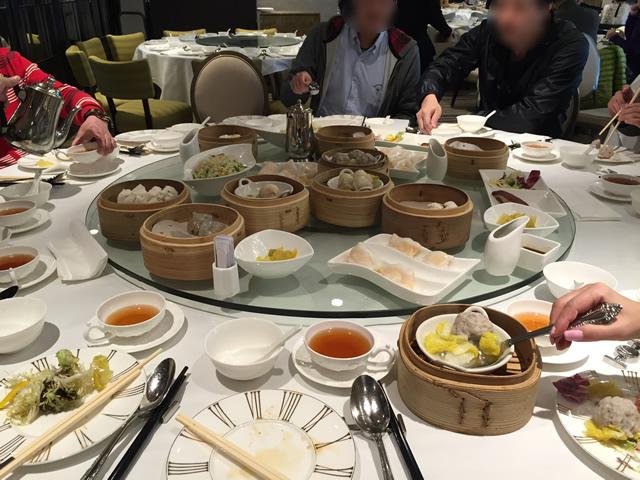 香港オフ会で旅トモたちと飲茶に行った時の様子