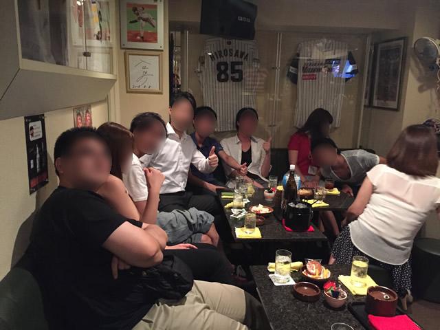 大盛り上がりの大阪オフ会の2次会