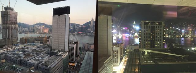 香港の夜景が見える最高のロケーション