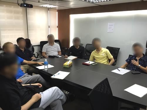 香港オフ会の海外投資勉強会に参加してくれた人たち