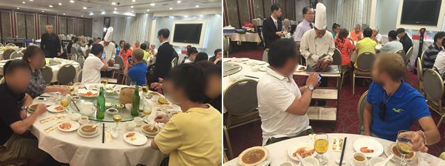 香港オフ会のしめは北京ダック