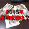 日経225先物2015年の運用成績