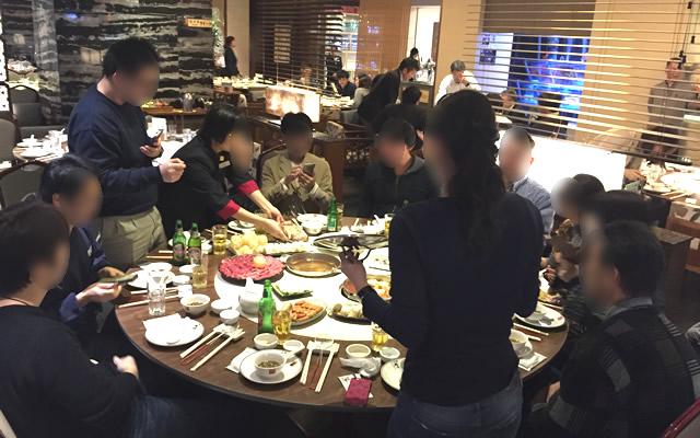 香港オフ会前夜祭は夜景の綺麗な火鍋を堪能