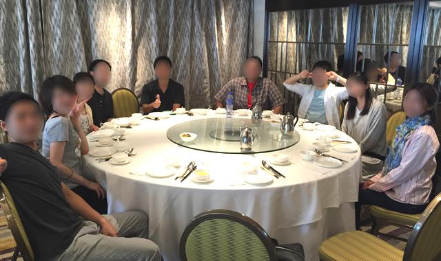 定番の飲茶から香港オフ会スタート