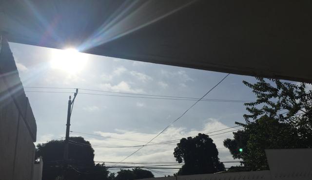 フィリピンで久々に太陽を見た