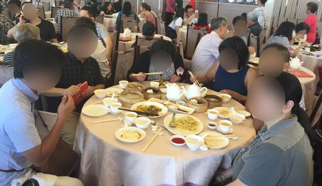 香港オフ会は飲茶からスタート