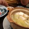 師匠は本マグロで私は湯豆腐・・