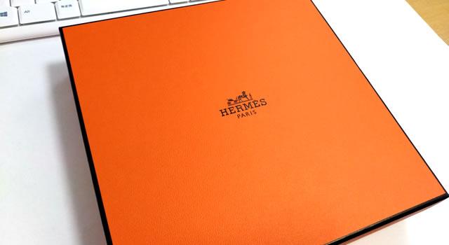 Hermesのベルトの箱