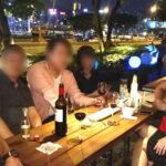 香港オフ会前夜祭の2次会の様子