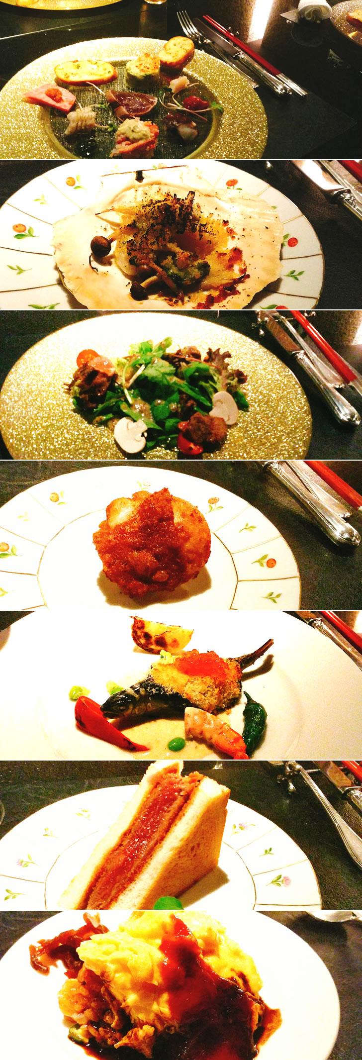 大阪オフ会のお料理