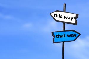 人生は選択と決断の連続