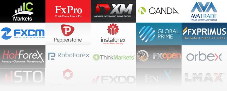 CashBackForexから口座開して手数料のキャッシュバックが受けられる海外FXブローカー一覧
