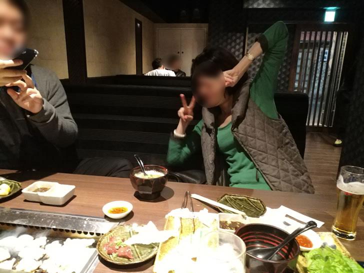 大阪オフ会の二次会は焼肉(笑)_2017-11-04_004