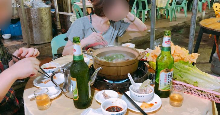 珠海のどローカルな鍋屋さん