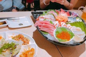 珠海拱北の地下街の日本食屋さんで飲んだくれ