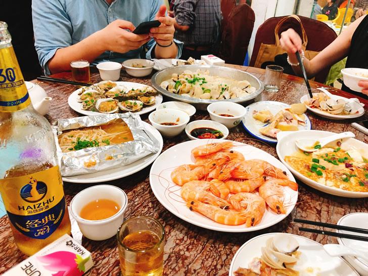 中国珠海のローカル広東料理屋さんを満喫