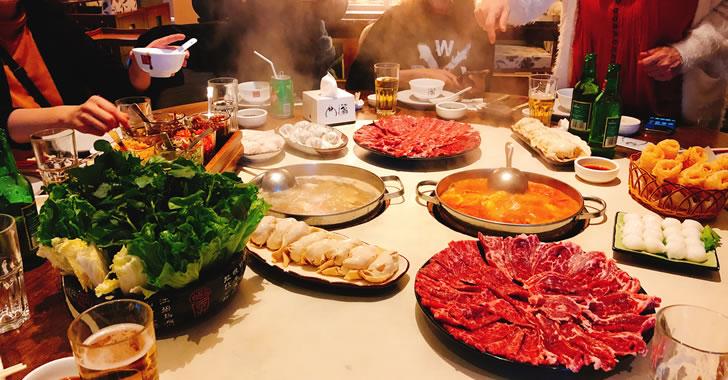 香港オフ会前夜祭で美味しい火鍋を堪能