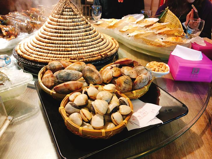 香港オフ会で堪能した海鮮蒸の貝