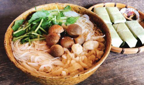 大神神社で食べたにゅう麺