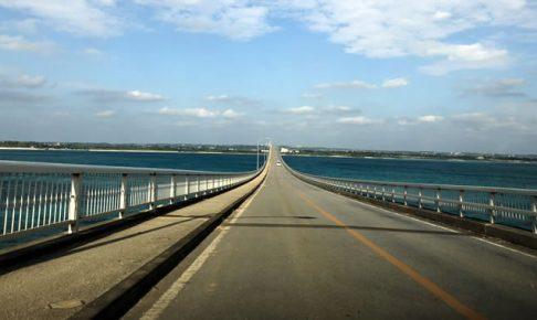 来間大橋をカマロでぶっ飛ばす