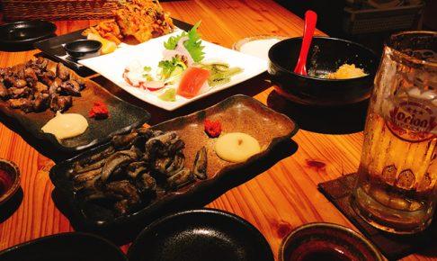 宮古島の友達と2年ぶりに夕食