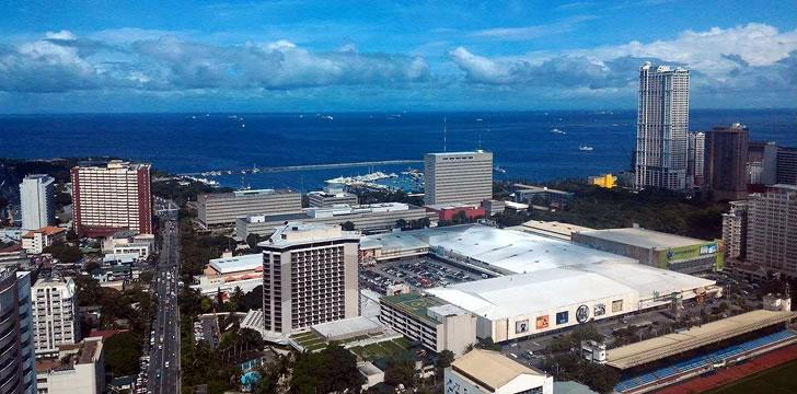 私のフィリピンコンドミニアムから見た景色