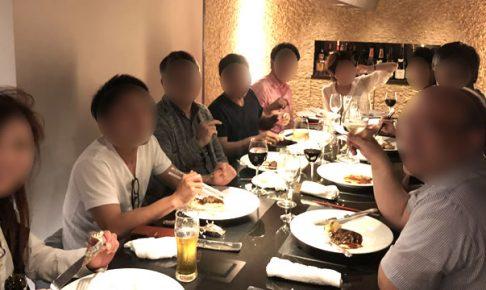 定員オーバーで楽しい大阪オフ会の様子(笑)