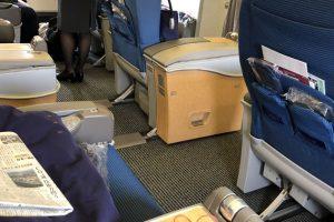 関空から香港までマイルを使ってANAビジネスクラスに搭乗