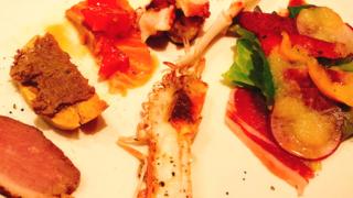 海外投資系の個別面談をイタリアンレストランで
