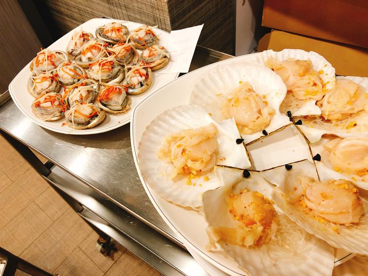 2018年6月の香港オフ会前夜祭で行った海鮮蒸し屋さんの海鮮その3