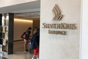 香港国際空港のシルバークリスラウンジ