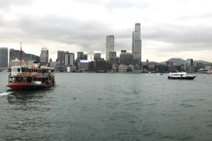 今回の香港オフ会はスターフェリーで移動してみた