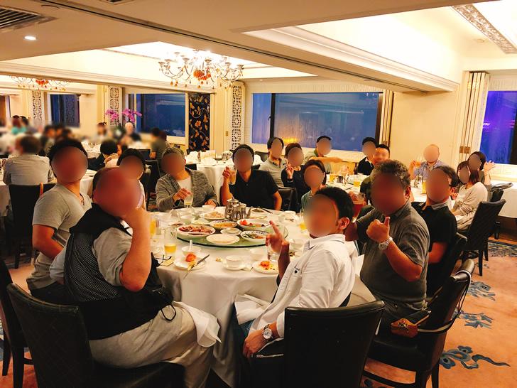 香港オフ会の夕食会は北京ダックにしたパターン