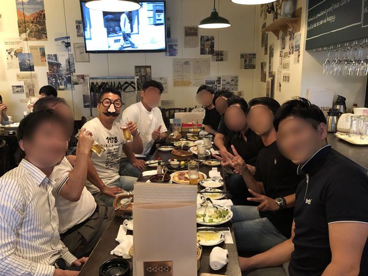 名古屋セミナー後の懇親会の様子