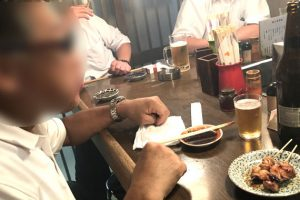 Pワンさんとオッサン2人大阪食べ歩き珍道中