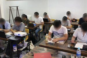 東京で開催した収入の柱構築セミナー初級編の様子