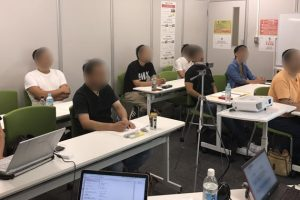 名古屋での収入の柱構築セミナー中級編の様子