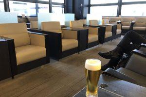 出発を早め伊丹空港のANAラウンジでリラックス