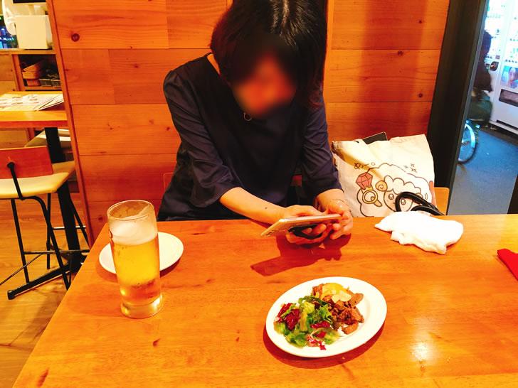 コンサル後にコンサル生と夕飯