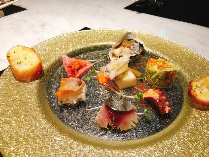 大阪オフ会で食べた一皿目の料理