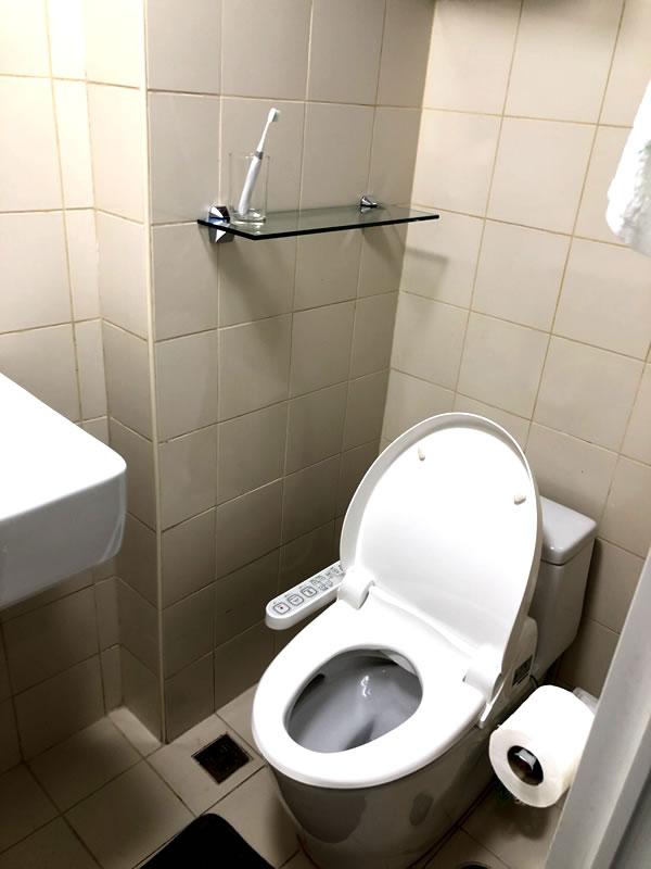 コンドミニアム(トイレ)のリノベーション後