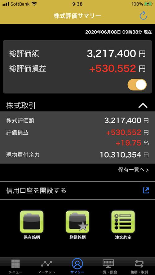 保有しているJ-REITが続伸して+19.75%と絶好調