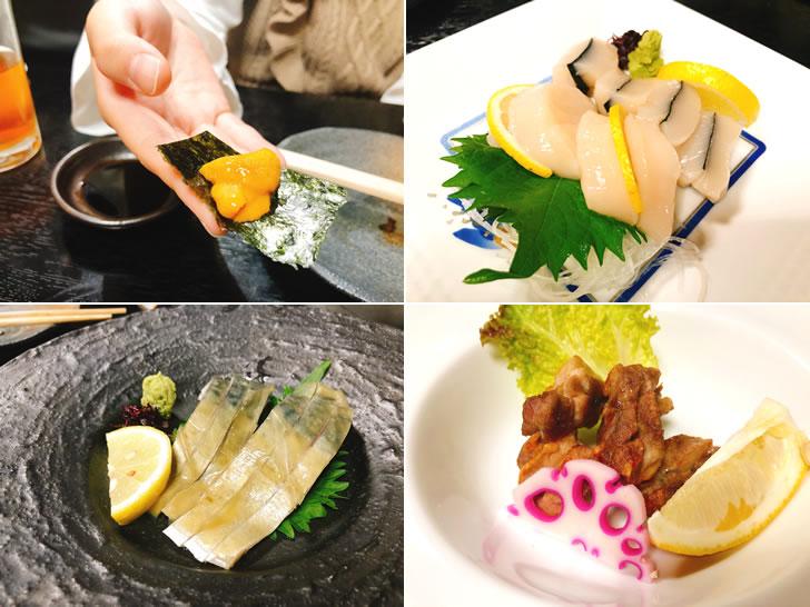 お寿司屋さんで追加した料理(笑)