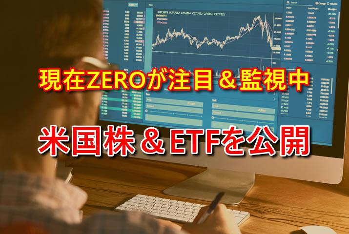 注目している米国株&ETF