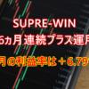 SUPRE-WIN2021年7月の運用成績は+6.79%