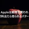 AppleがiPhone13を発表したら株価が下がるパターン