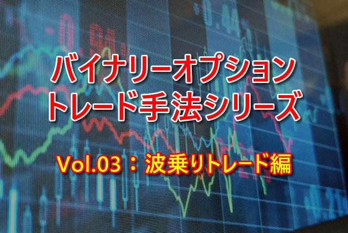 【BOトレード手法シリーズVol.03】ターボ30秒&1分を使った超短期波乗りトレード